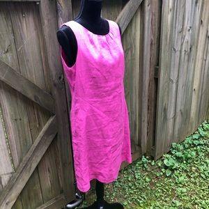 💲⬇️ Linen Pink Dress